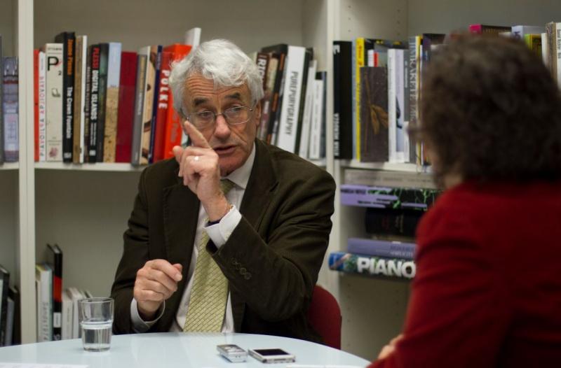 Politikwissenschaftler Crouch im Cicero-Gespräch (Foto: Cicero)